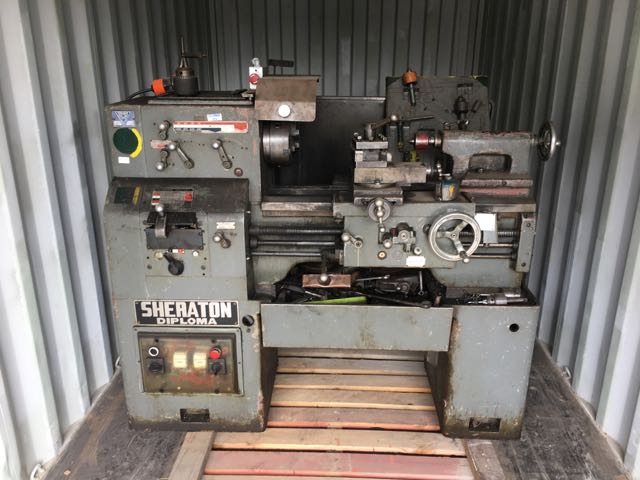 Metal working lathe and mill for sale!! - The Salvage Yard